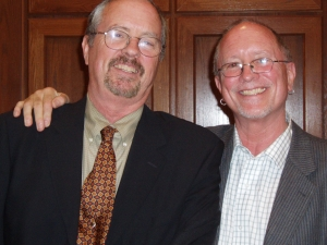 Rick and Bill Ayers